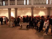 Publika na otvaranju izlozbe Balanica