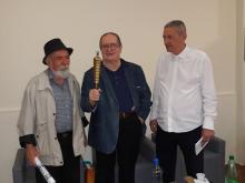 Sa promocije Kostic Palanski, Micevic i Mladenovic
